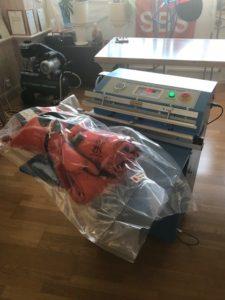 vacuumförpackad Överlevnadsdräkt